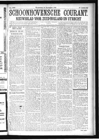 Schoonhovensche Courant 1925-11-25