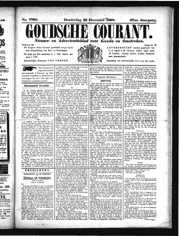 Goudsche Courant 1898-12-22