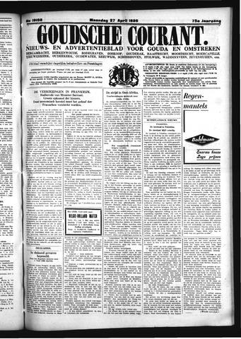 Goudsche Courant 1936-04-27