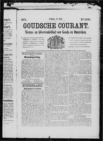Goudsche Courant 1871-04-14