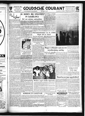 Goudsche Courant 1952-12-09