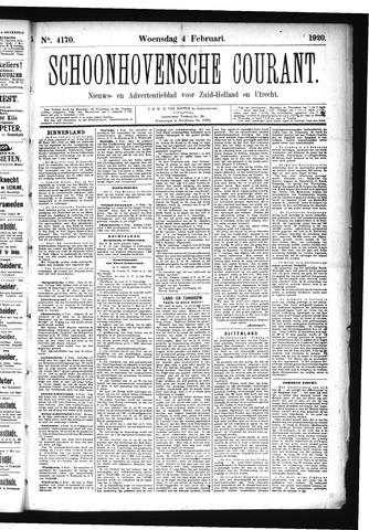 Schoonhovensche Courant 1920-02-04