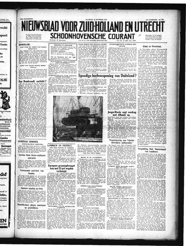 Schoonhovensche Courant 1949-11-14