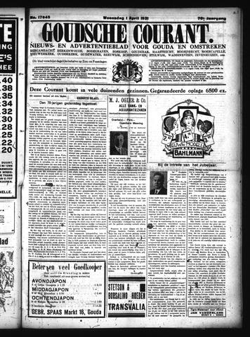 Goudsche Courant 1931-04-01