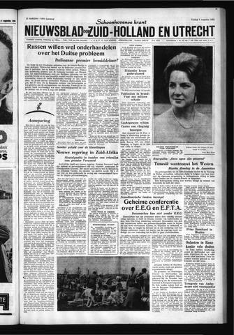 Schoonhovensche Courant 1961-08-04
