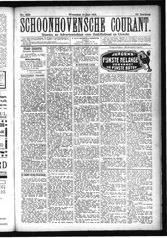Schoonhovensche Courant 1922-06-14