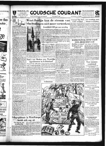 Goudsche Courant 1953-01-24