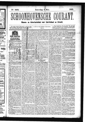 Schoonhovensche Courant 1903-05-09