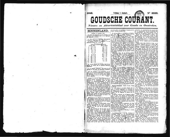 Goudsche Courant 1886