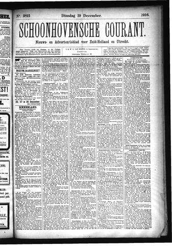 Schoonhovensche Courant 1916-12-19