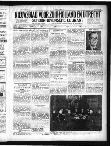 Schoonhovensche Courant 1937-06-28