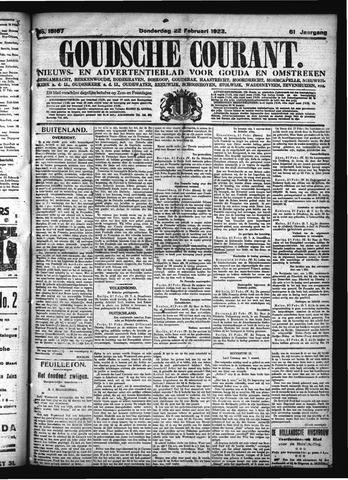 Goudsche Courant 1923-02-22