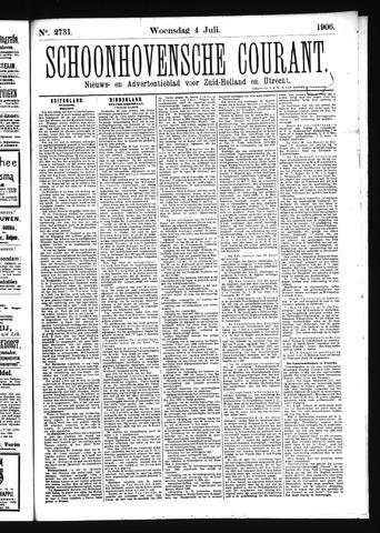Schoonhovensche Courant 1906-07-04