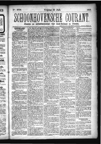Schoonhovensche Courant 1916-07-21