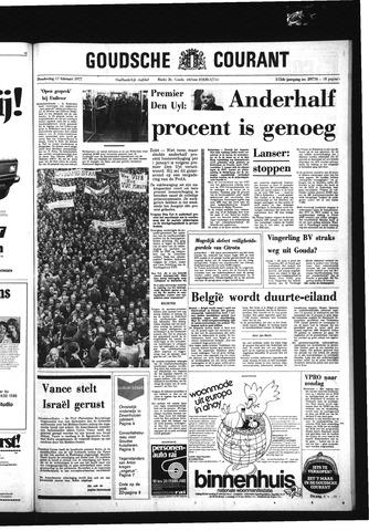Goudsche Courant 1977-02-17