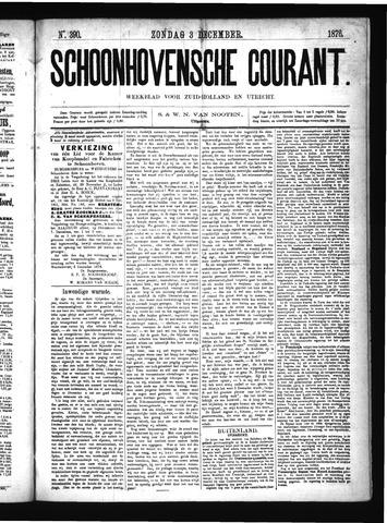 Schoonhovensche Courant 1876-12-03