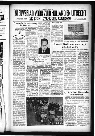 Schoonhovensche Courant 1957-08-21