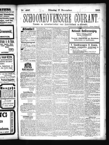 Schoonhovensche Courant 1918-12-17