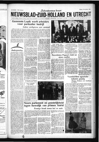 Schoonhovensche Courant 1960-11-18