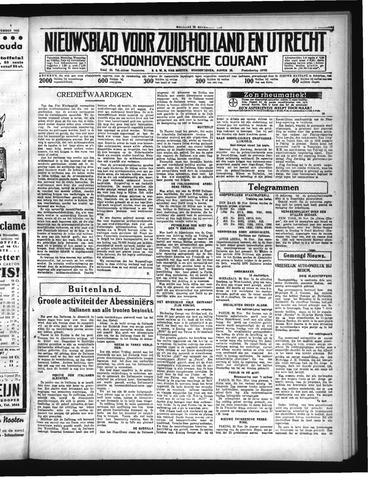 Schoonhovensche Courant 1935-11-25