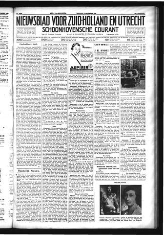 Schoonhovensche Courant 1933-11-06