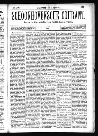 Schoonhovensche Courant 1893-08-26