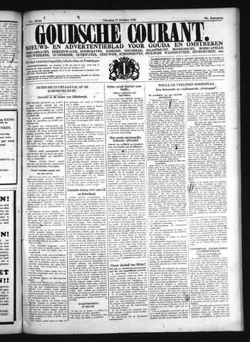 Goudsche Courant 1939-10-17