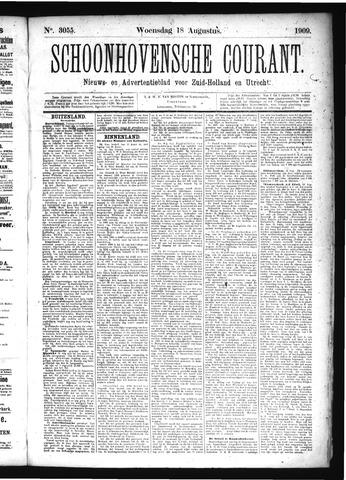 Schoonhovensche Courant 1909-08-18