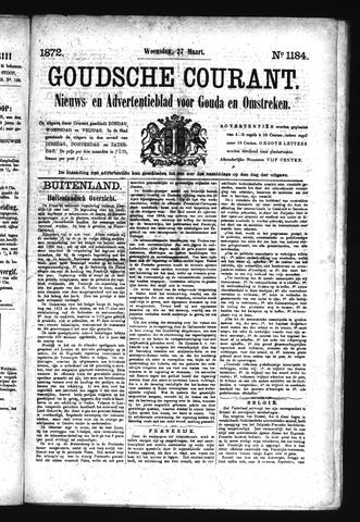 Goudsche Courant 1872-03-27