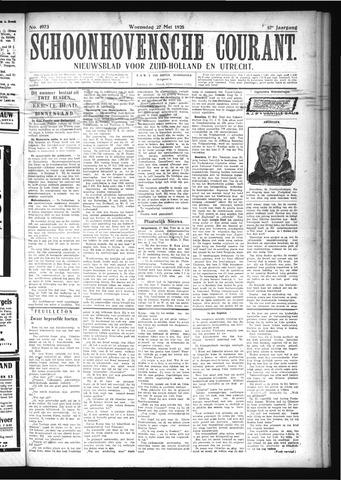 Schoonhovensche Courant 1925-05-27