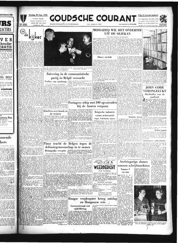 Goudsche Courant 1952-09-30