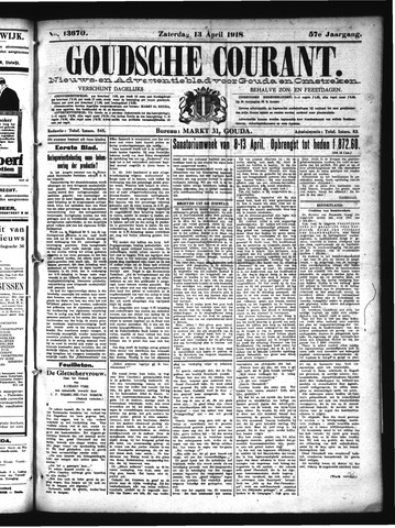 Goudsche Courant 1918-04-13