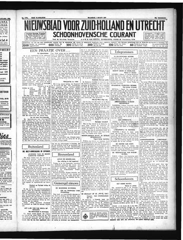 Schoonhovensche Courant 1937-03-01