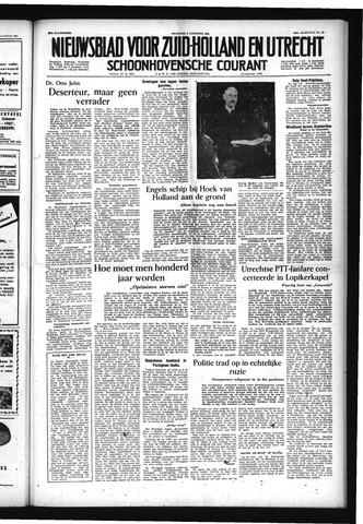 Schoonhovensche Courant 1954-08-09