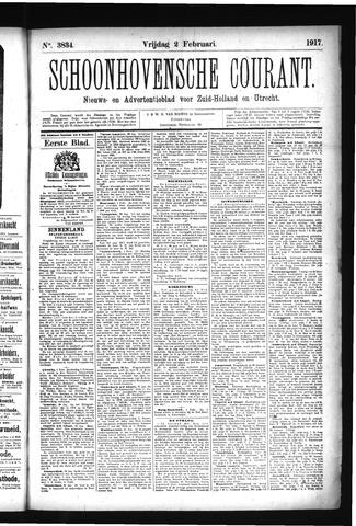 Schoonhovensche Courant 1917-02-02