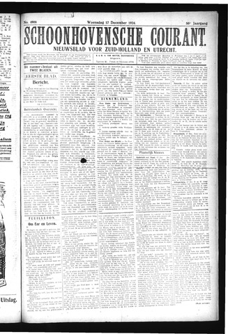 Schoonhovensche Courant 1924-12-17
