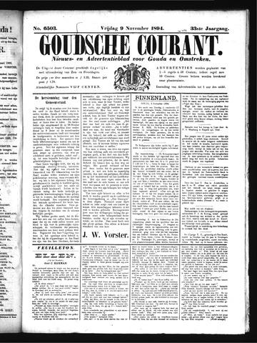 Goudsche Courant 1894-11-09