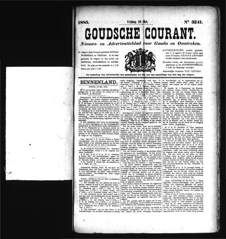Goudsche Courant 1885-05-29