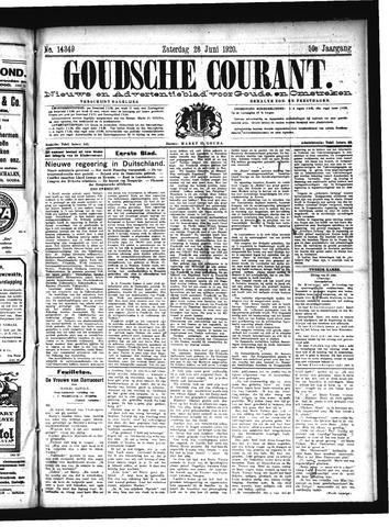 Goudsche Courant 1920-06-26