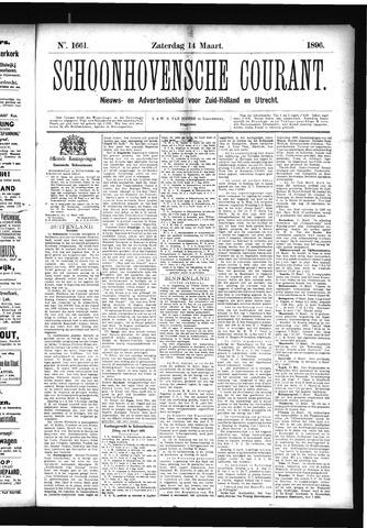 Schoonhovensche Courant 1896-03-14