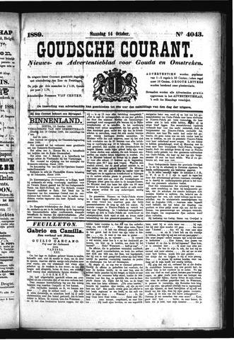 Goudsche Courant 1889-10-14