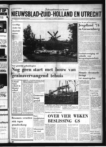 Schoonhovensche Courant 1974-07-22