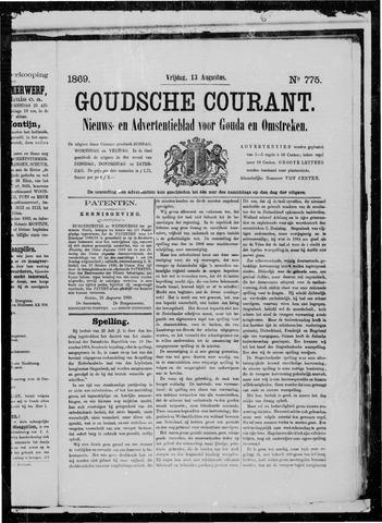 Goudsche Courant 1869-08-13