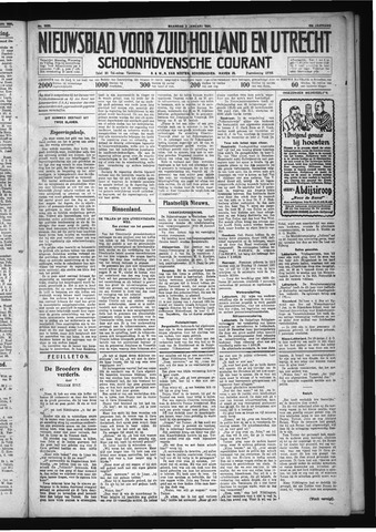 Schoonhovensche Courant 1931-01-05