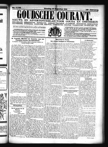 Goudsche Courant 1931-08-18