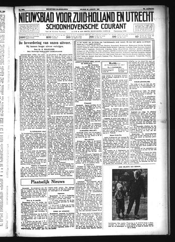 Schoonhovensche Courant 1934-01-26