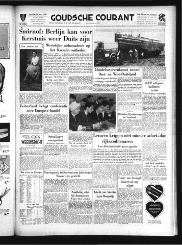 Goudsche Courant 1958-11-22