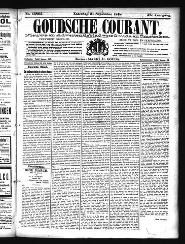 Goudsche Courant 1918-09-21