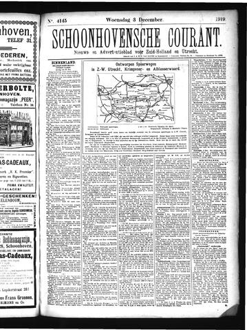 Schoonhovensche Courant 1919-12-03