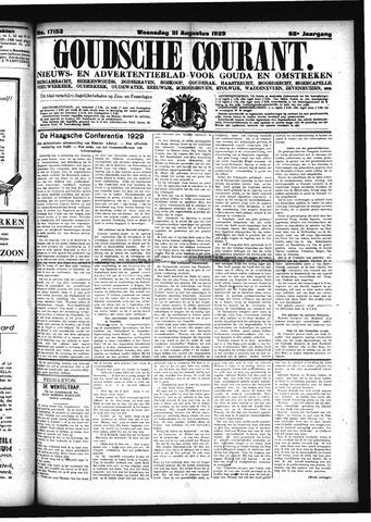 Goudsche Courant 1929-08-21